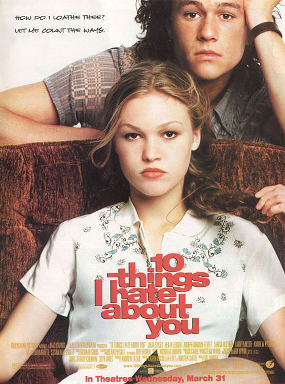10 Things I Hate About You Poster #1
