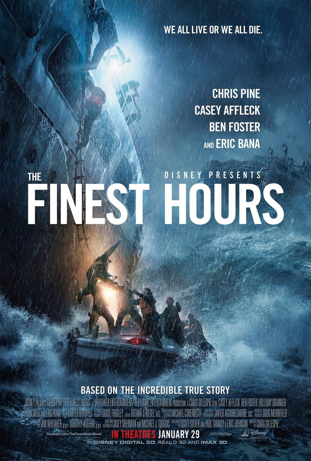 The Finest Hours Poster #2