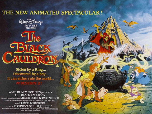The Black Cauldron Poster #2