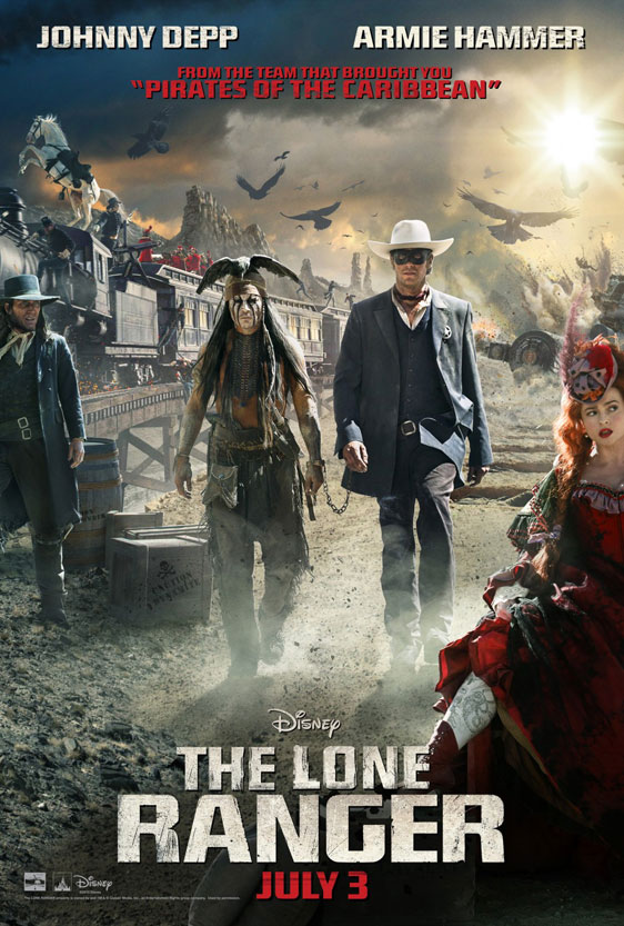 The Lone Ranger Poster #12