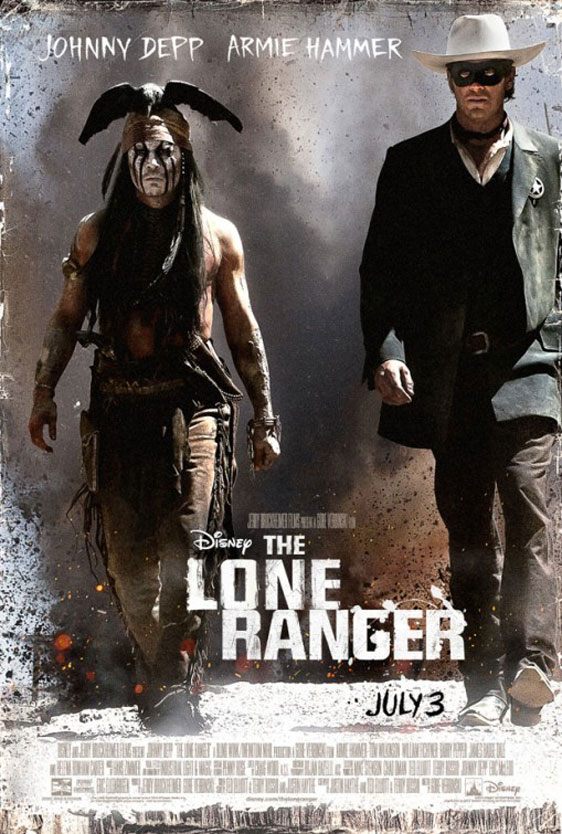 The Lone Ranger Poster #2