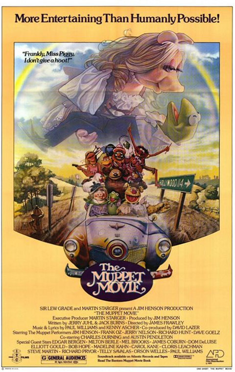 The Muppet Movie Poster #1