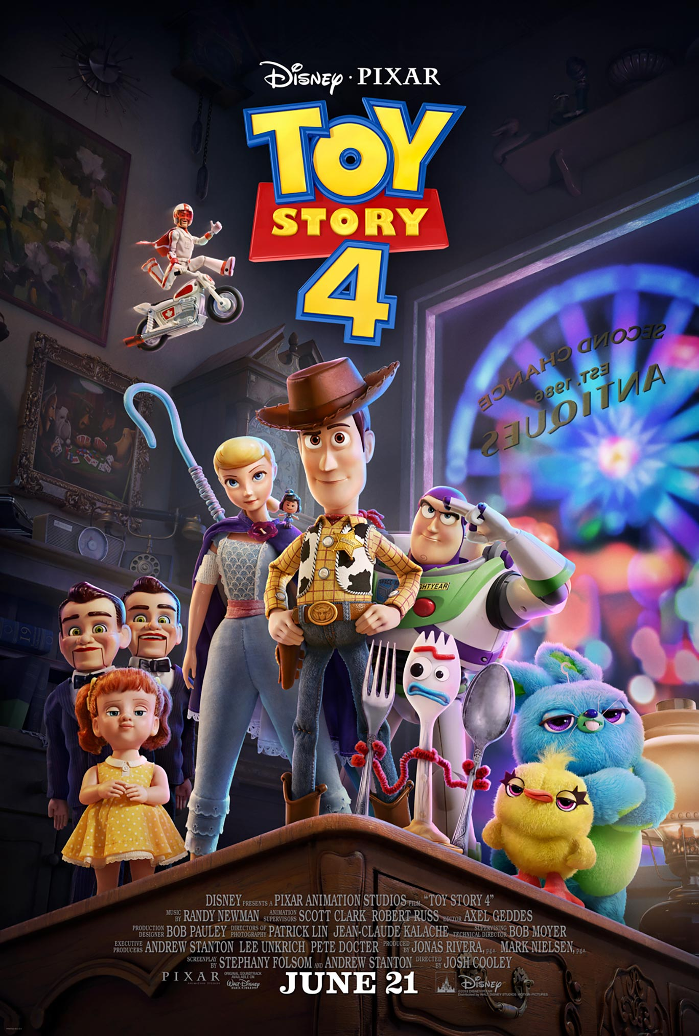 Toy Story 4 Poster #2