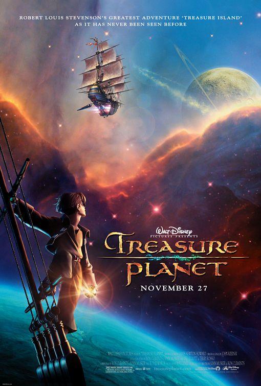 Treasure Planet Poster #1