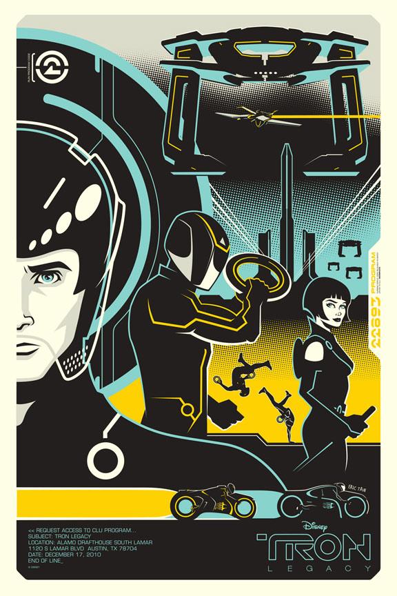 Tron Legacy Poster #37
