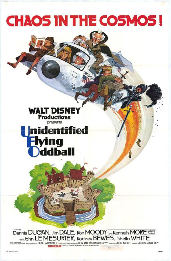 Unidentified Flying Oddball Poster #1