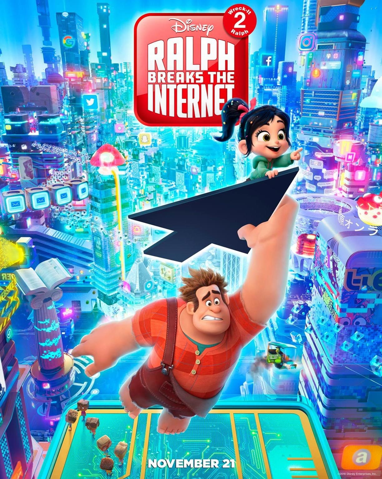 Ralph Breaks the Internet: Wreck-It Ralph 2 Poster #3
