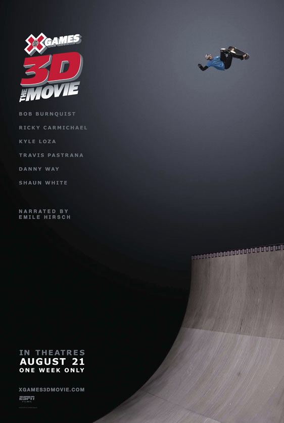 X Games 3D: The Movie Poster #1