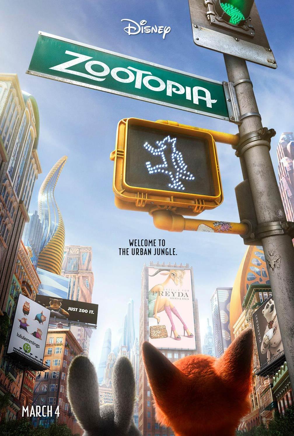 Zootopia Poster #1