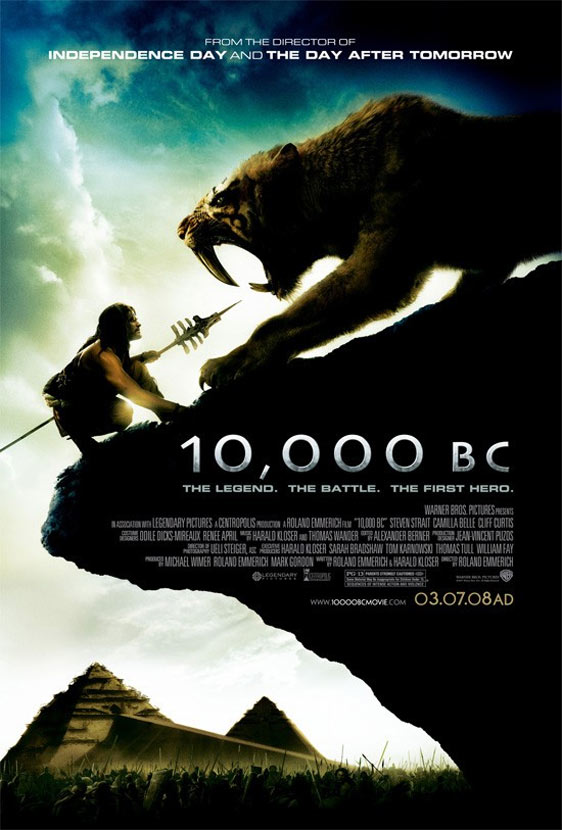 10,000 BC Poster #2