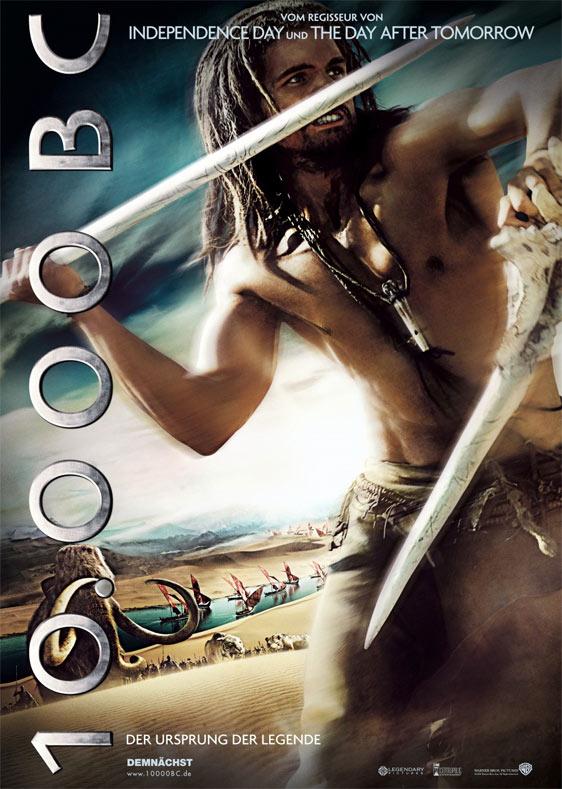 10,000 BC Poster #3