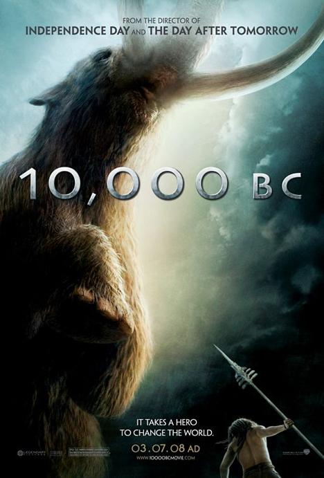 10,000 BC Poster #1