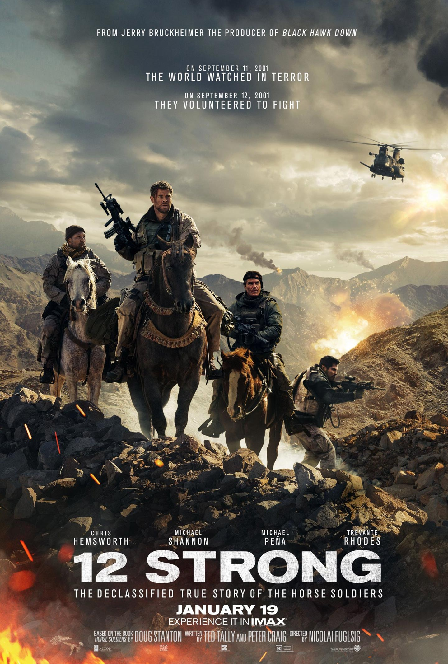 Image result for 12 strong poster