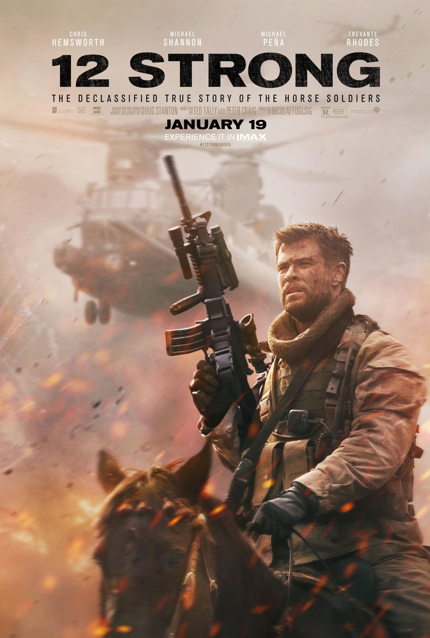 12 Strong Poster #3