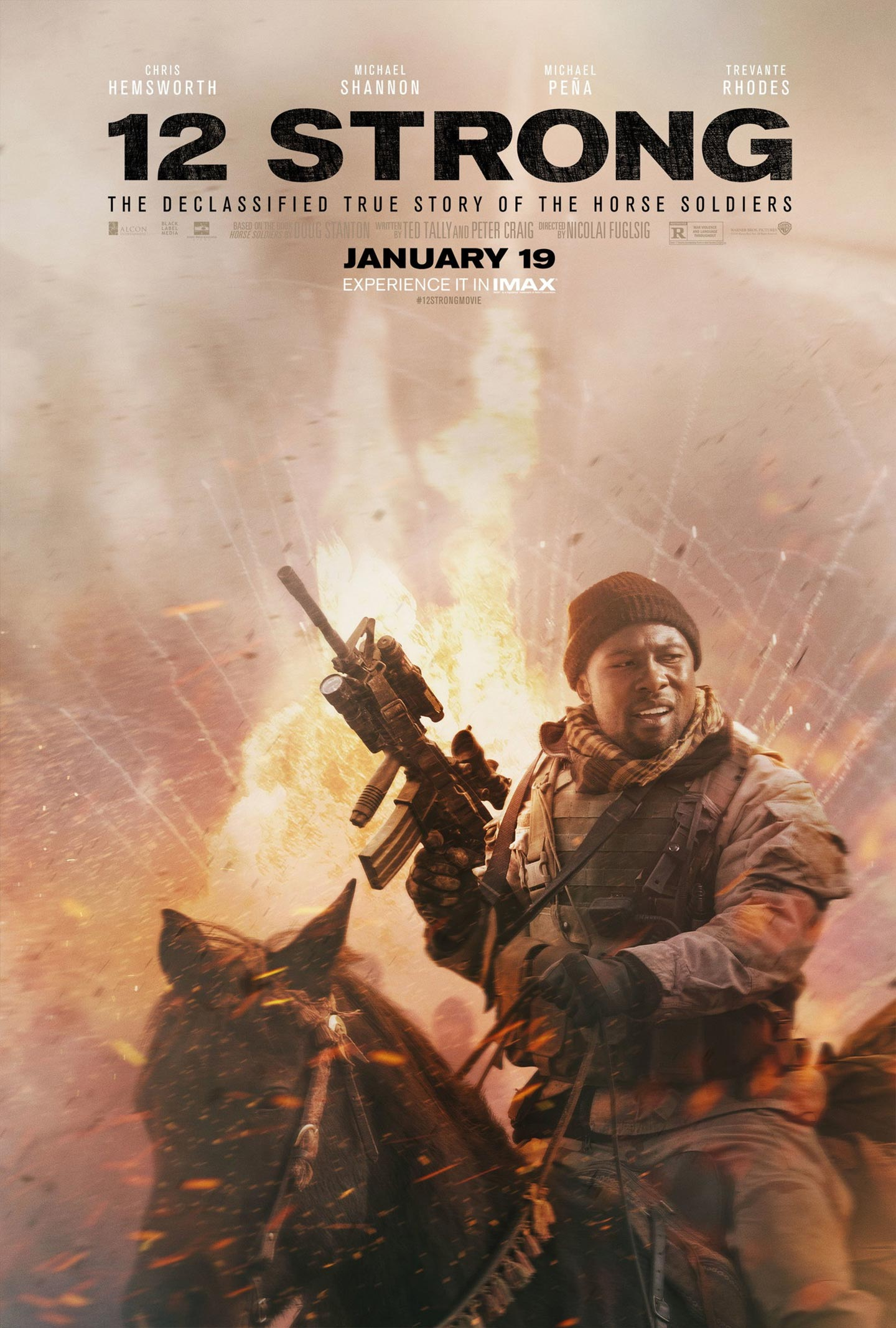 12 Strong Poster #4
