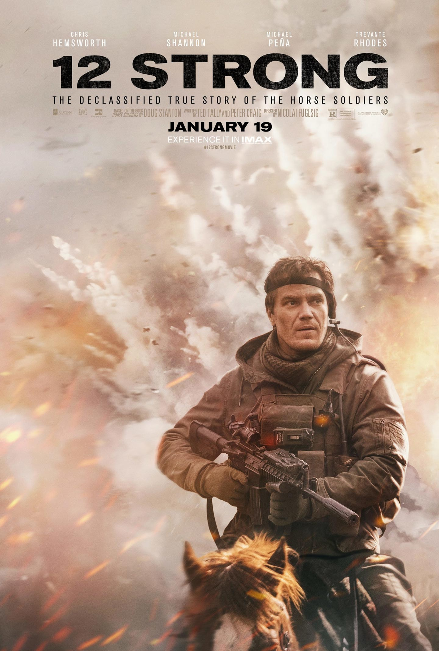 12 Strong Poster #6