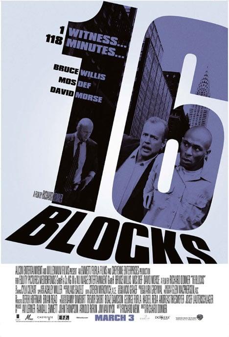 16 Blocks Poster #1