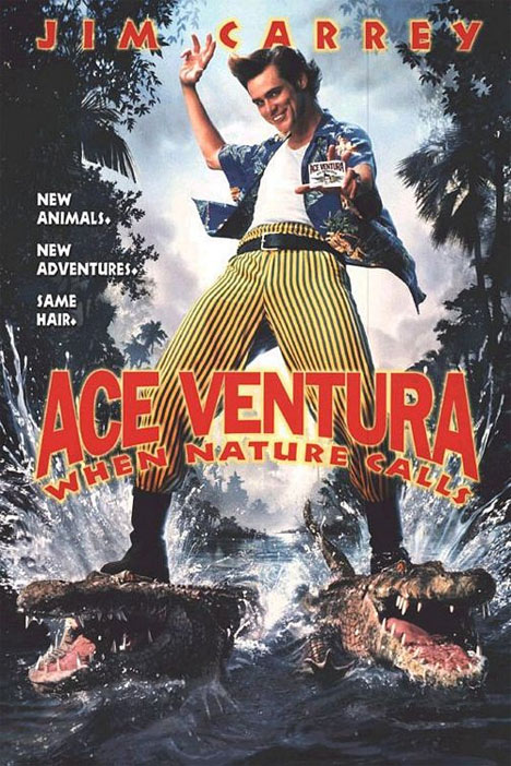 Ace Ventura- When Nature Calls Poster #1