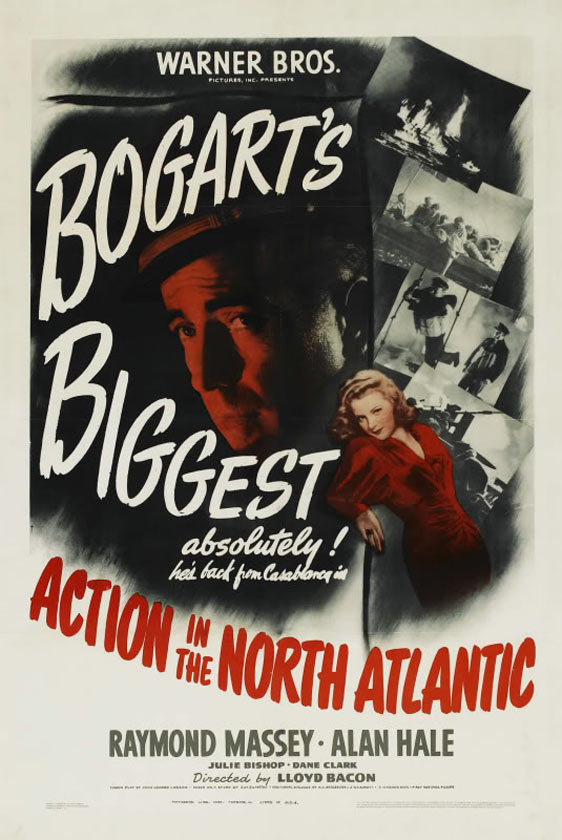 Action in the North Atlantic Poster #1