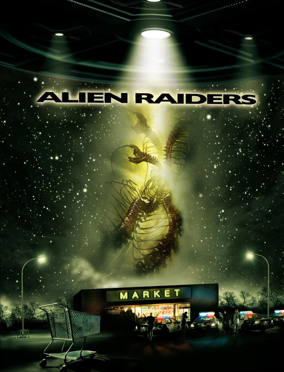 Alien Raiders Poster #1