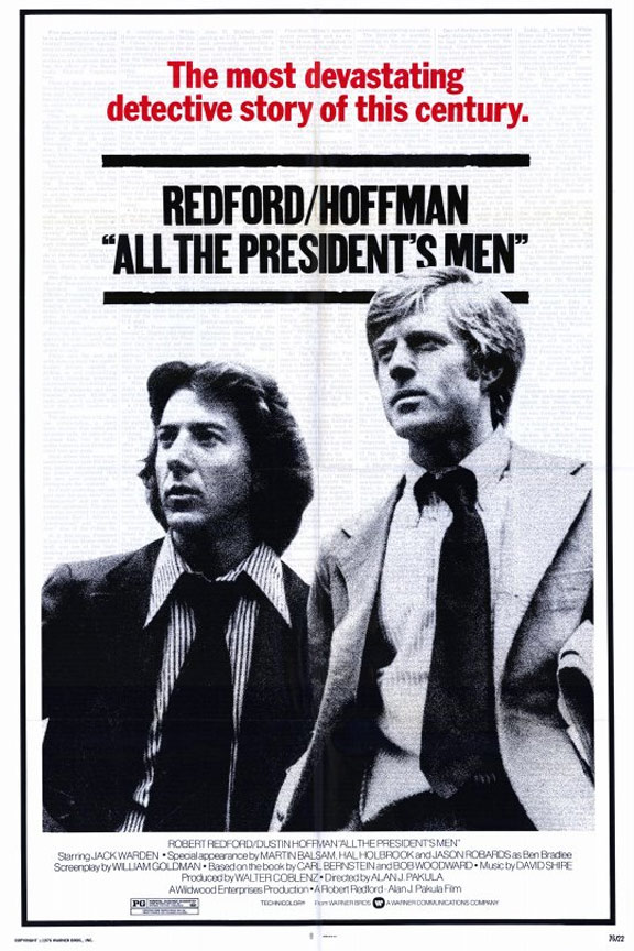 All the President's Men Poster #1
