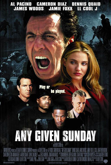 Any Given Sunday Poster #1