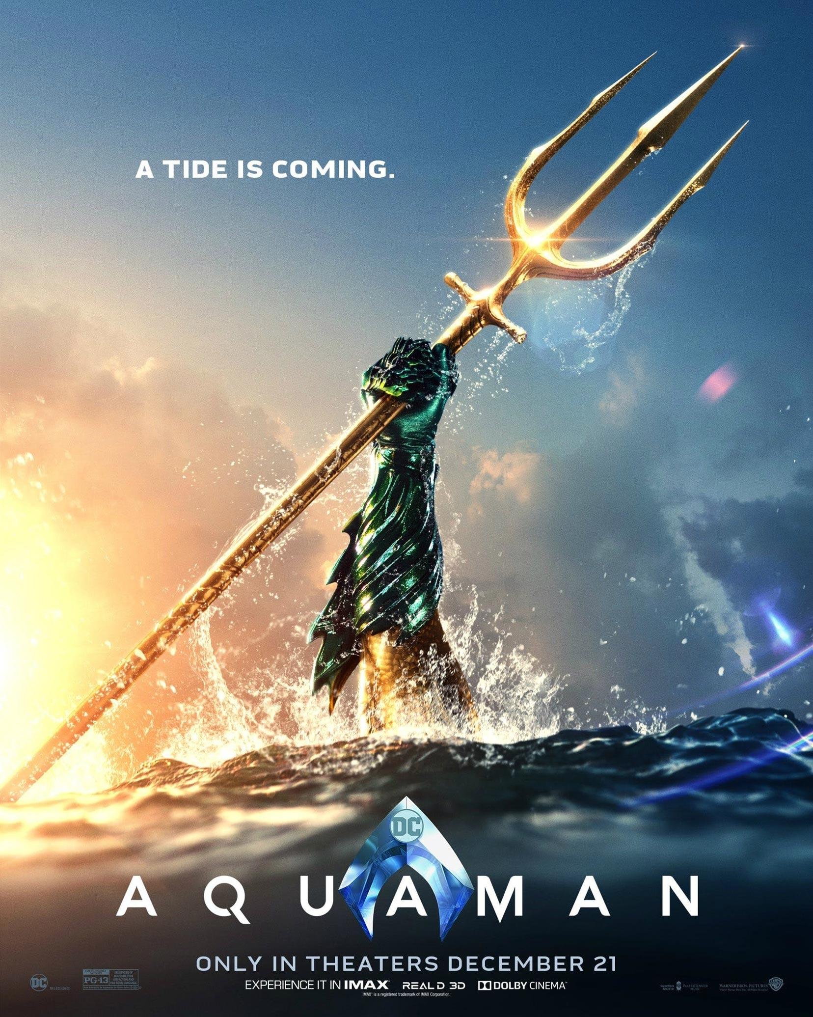 Aquaman Poster #3