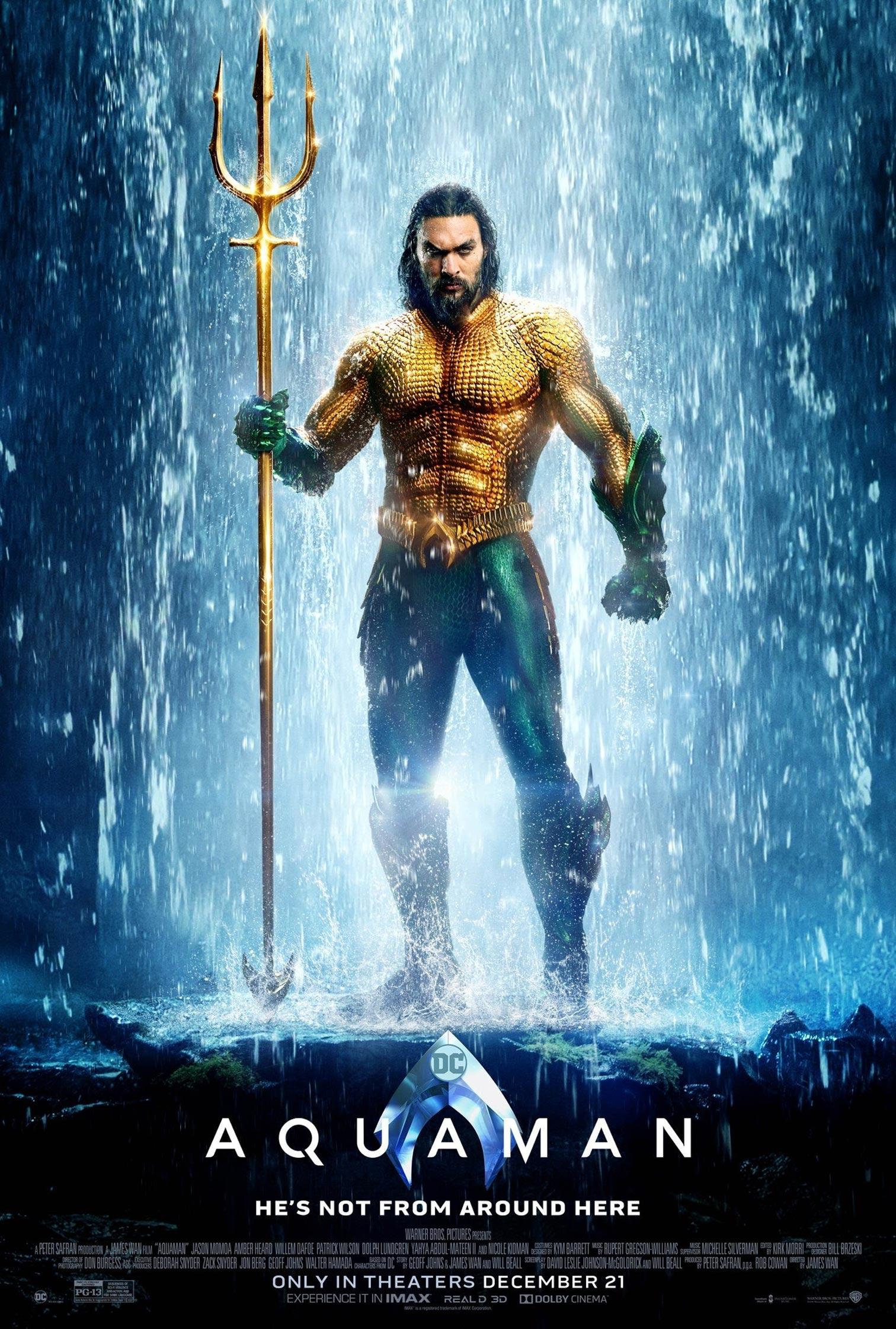 Aquaman Poster #4