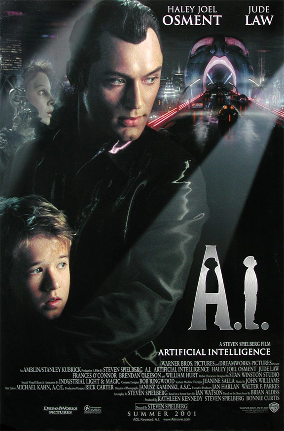 A.I. Artificial Intelligence Poster #2