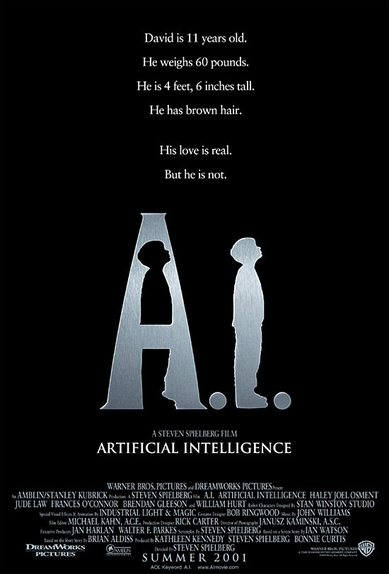 A.I. Artificial Intelligence Poster #1