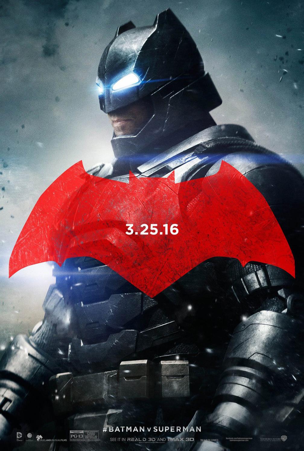 Batman v Superman: Dawn of Justice Poster #6