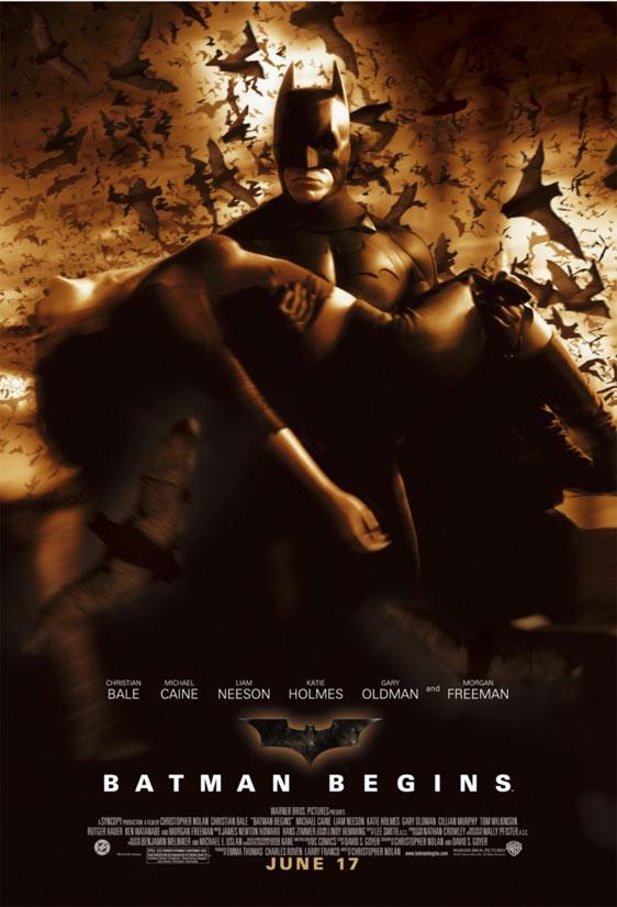 Batman Begins Poster #3