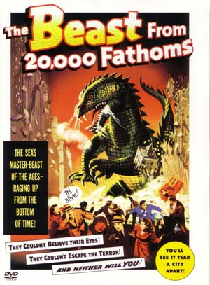 The Beast from 20,000 Fathoms Poster #1