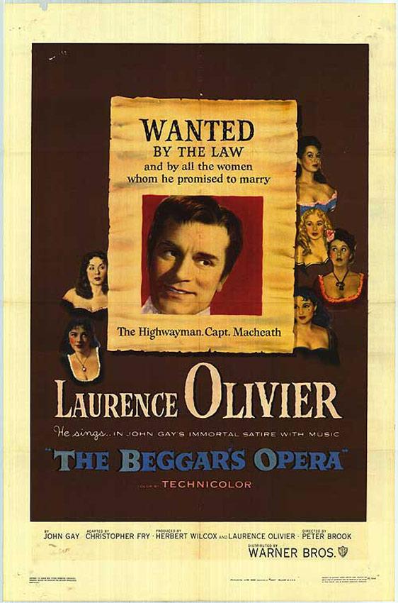 The Beggar's Opera Poster #1