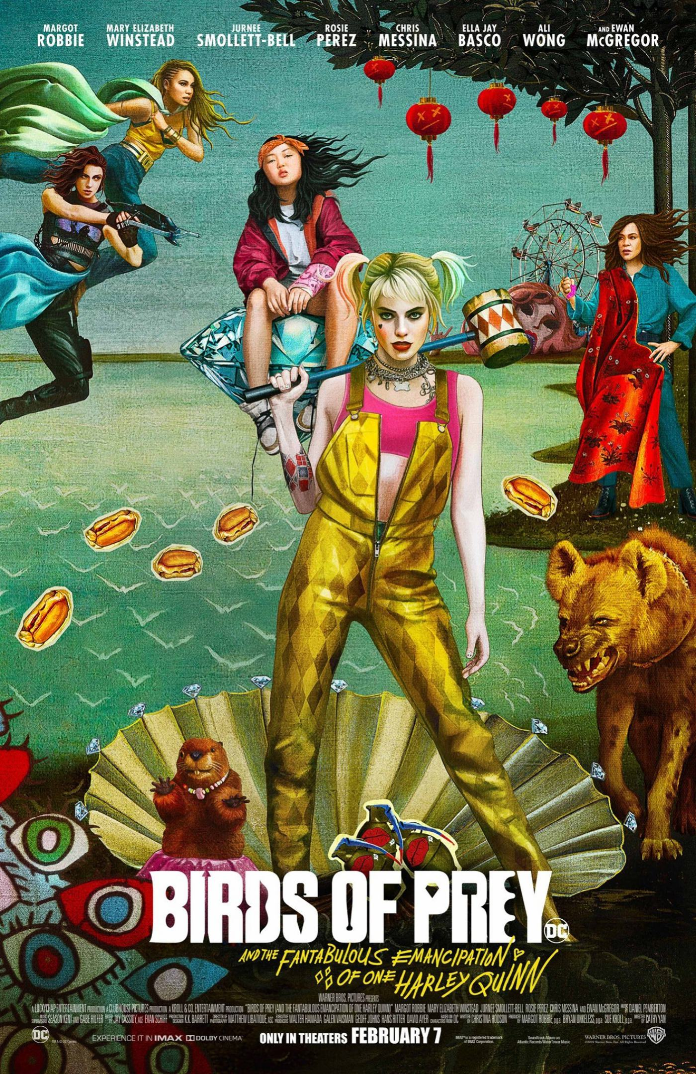 Birds of Prey (And the Fantabulous Emancipation of One Harley Quinn) Poster #2