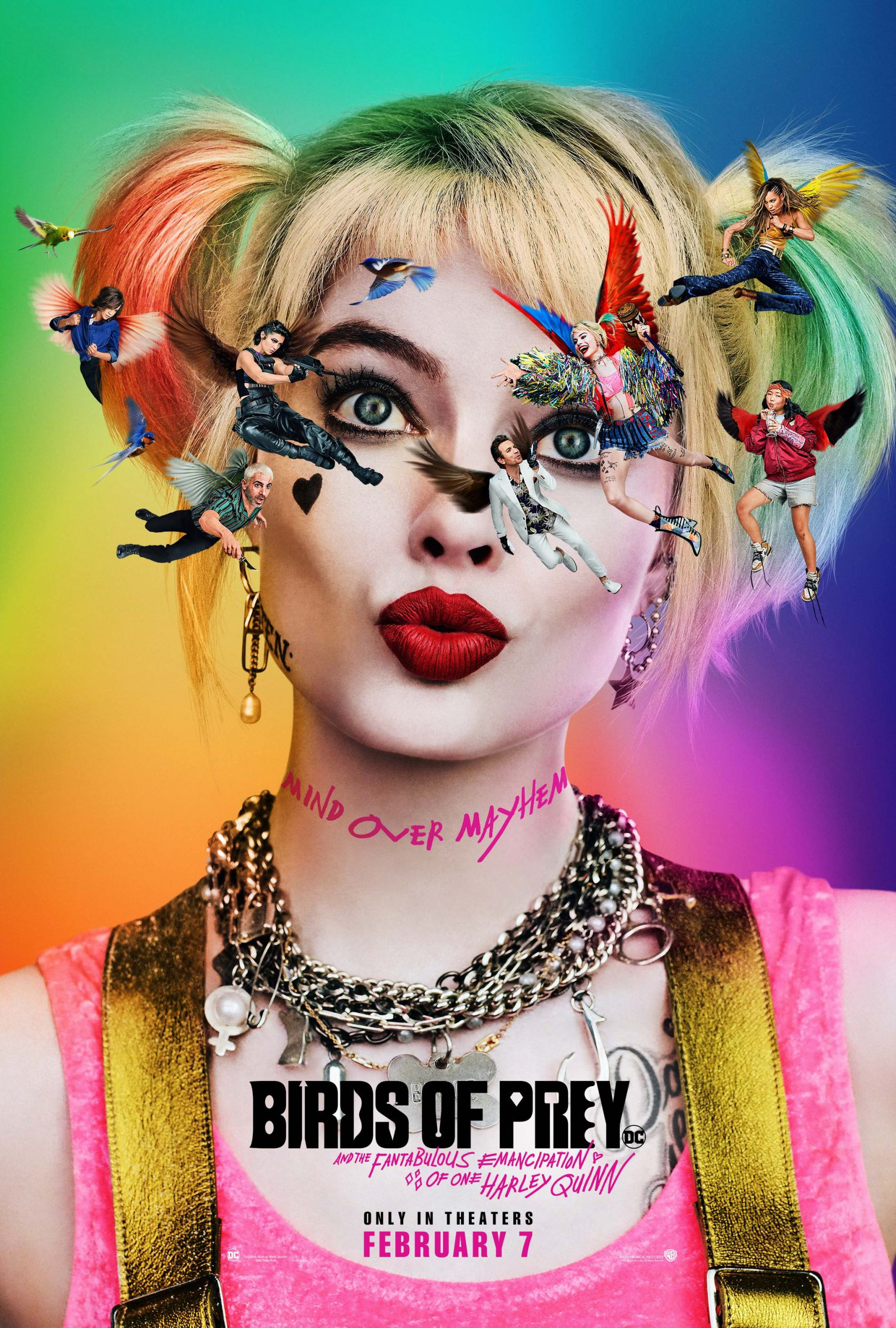 Birds of Prey (And the Fantabulous Emancipation of One Harley Quinn) Poster #1