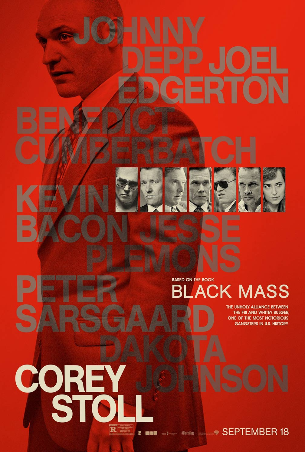 Black Mass Poster #11