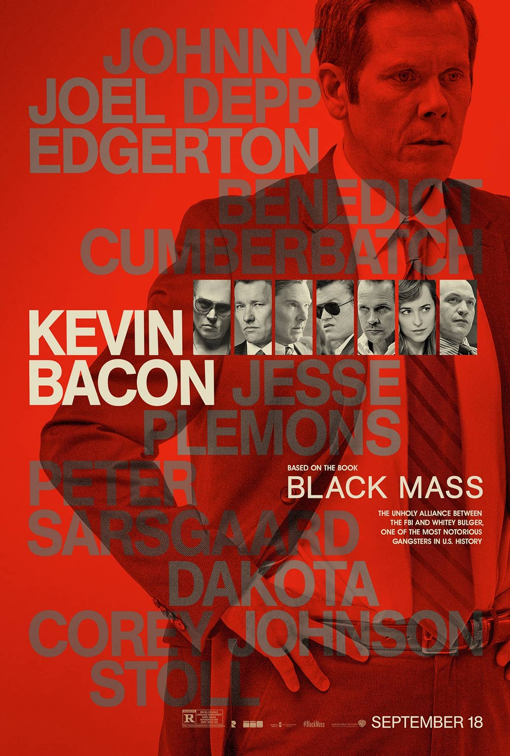 Black Mass Poster #6