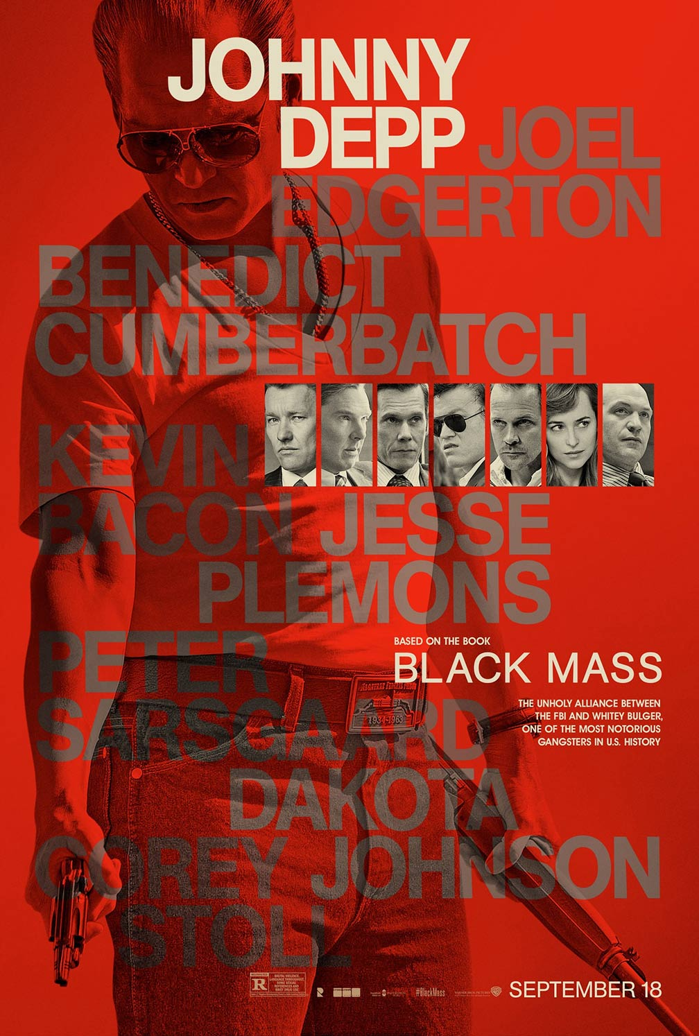 Black Mass Poster #9