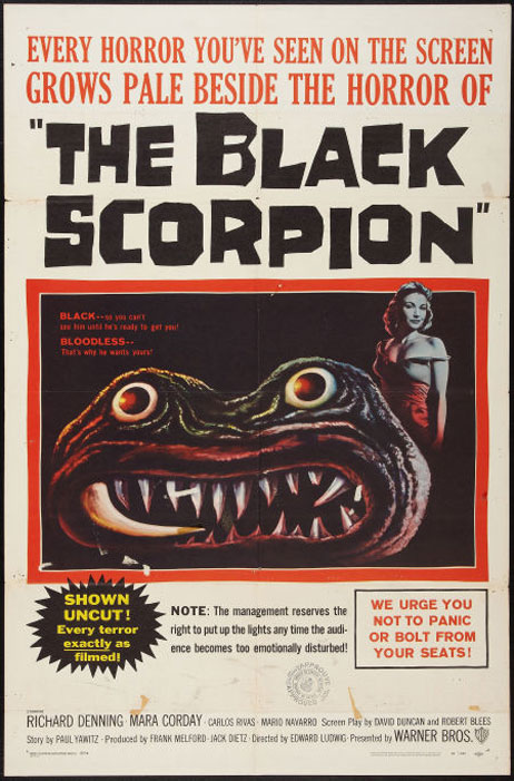 The Black Scorpion Poster #1