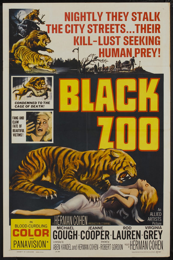 Black Zoo Poster #1