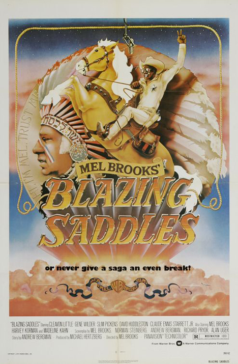 Blazing Saddles Poster #1