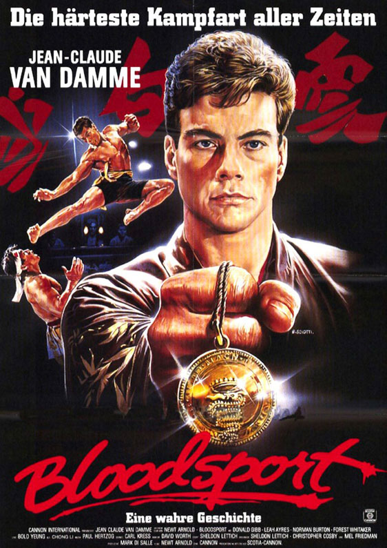 Bloodsport Poster #2