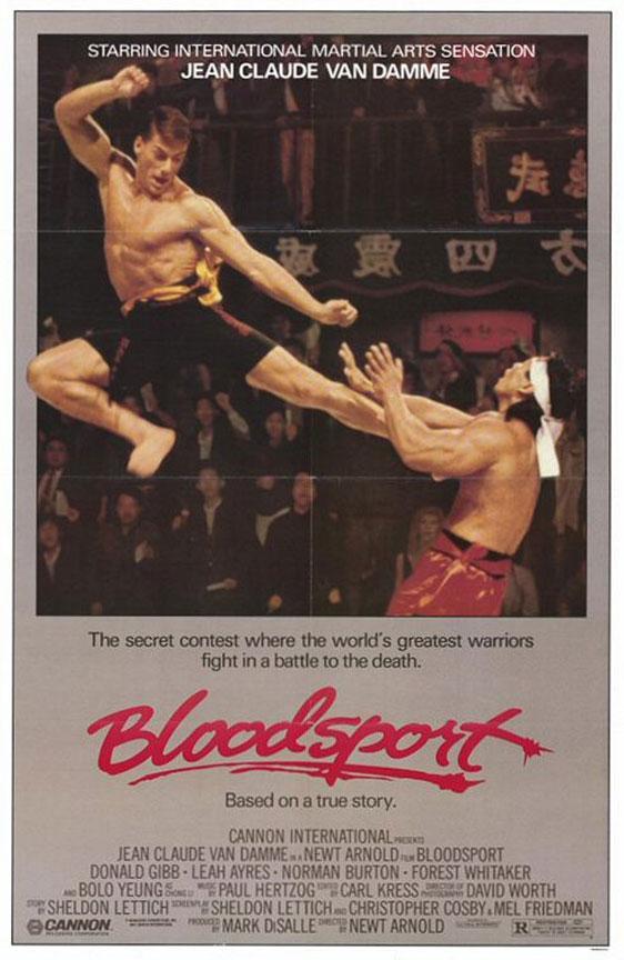Bloodsport Poster #1
