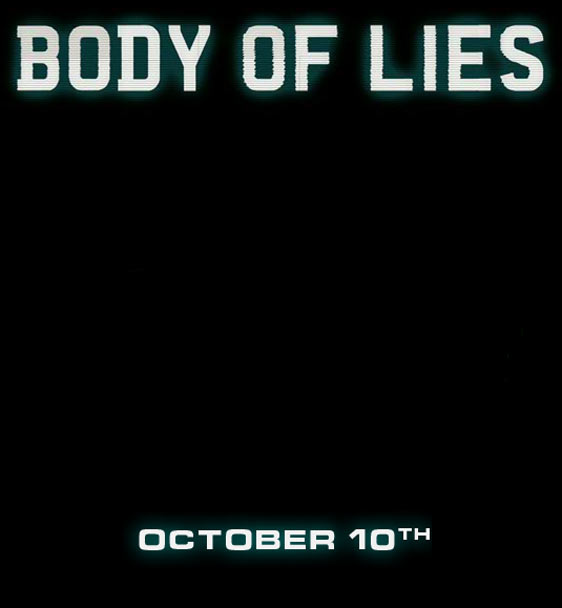 Body of Lies Poster #1