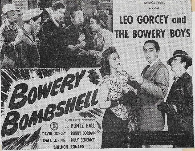 Bowery Bombshell Poster #1