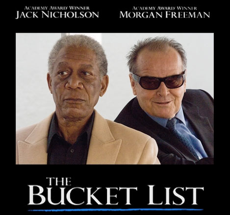 The Bucket List Poster #1