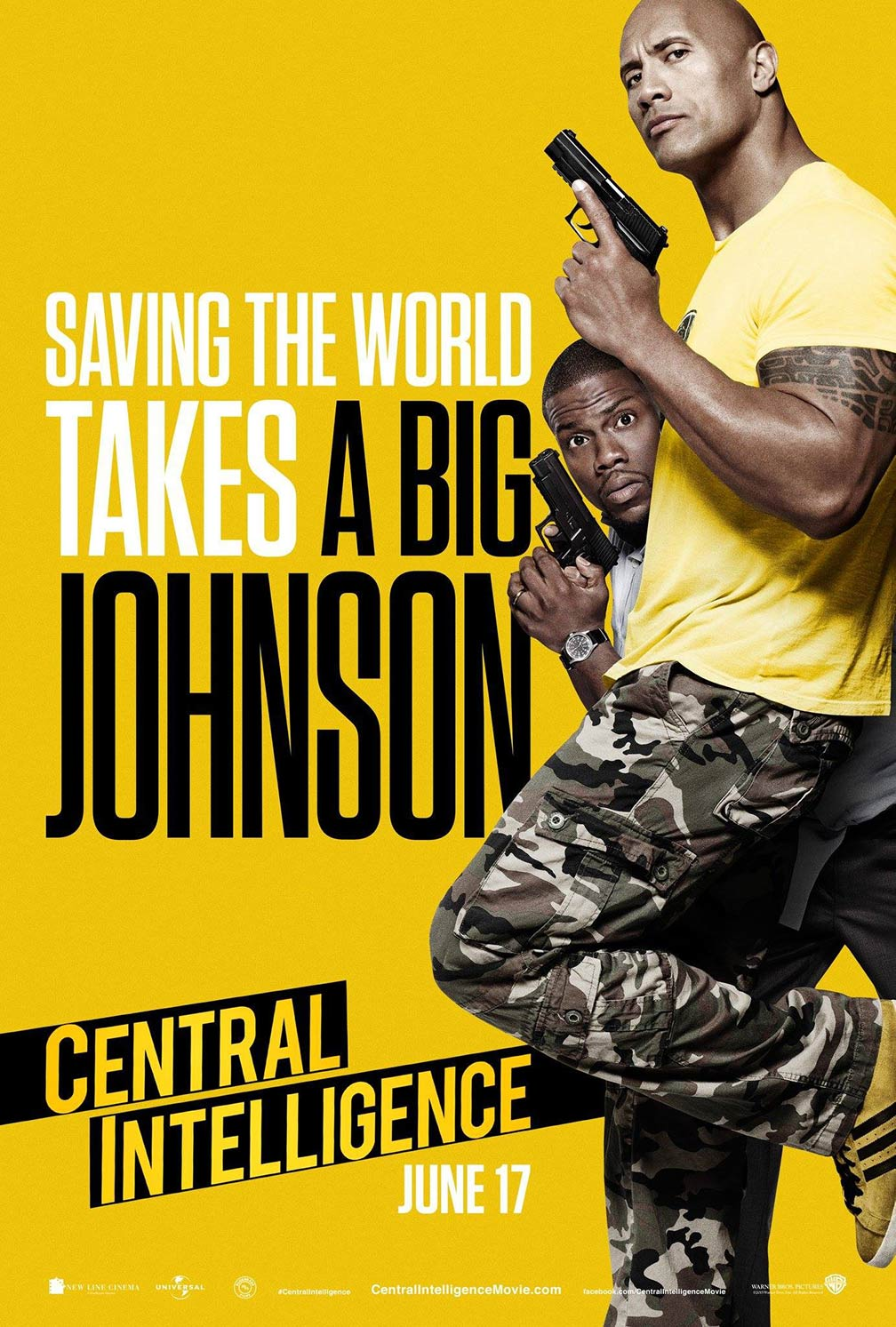 Central Intelligence Poster #2