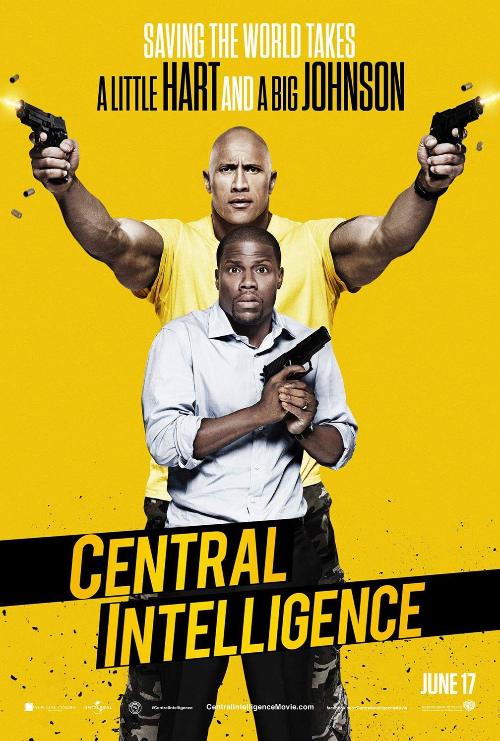 Central Intelligence Poster #1