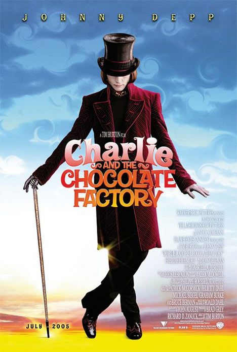 Charlie and the Chocolate Factory Poster #1